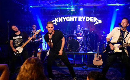 Knyght Ryder - 80s Tribute Band