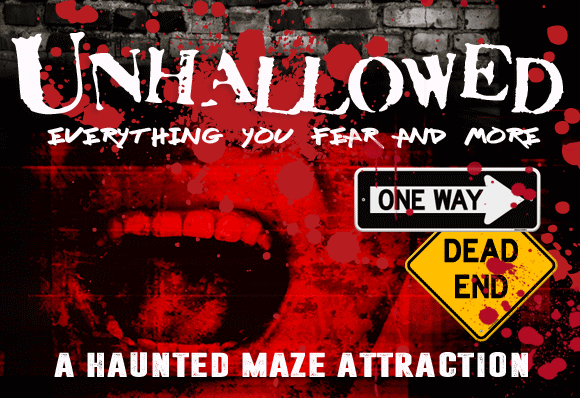Unhallowed Haunted Maze