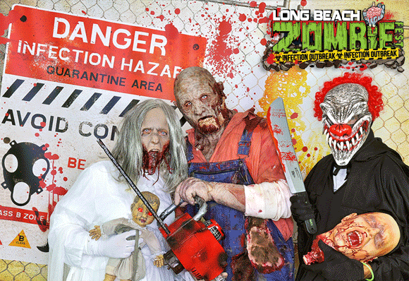 Long Beach Zombie Walk Photo Booth
