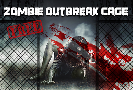 Infected - Haunted Maze - Zombie Outbreak Cage