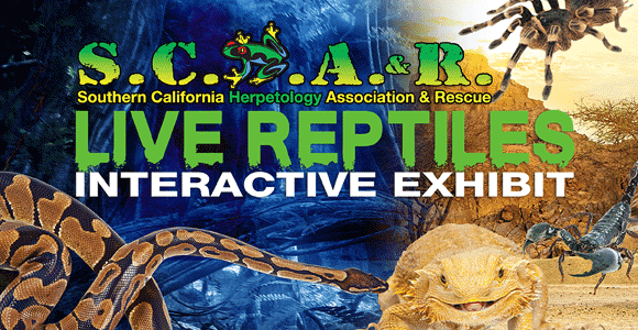 Southern California Herpetology Association & Rescue - Live Interactive Reptile Exhibit