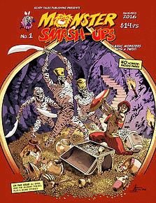 Fractured Scary Tales - Monster Smash-up Comic Book