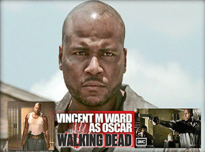 Vincent Ward as Oscar in The Walking Dead TV Series