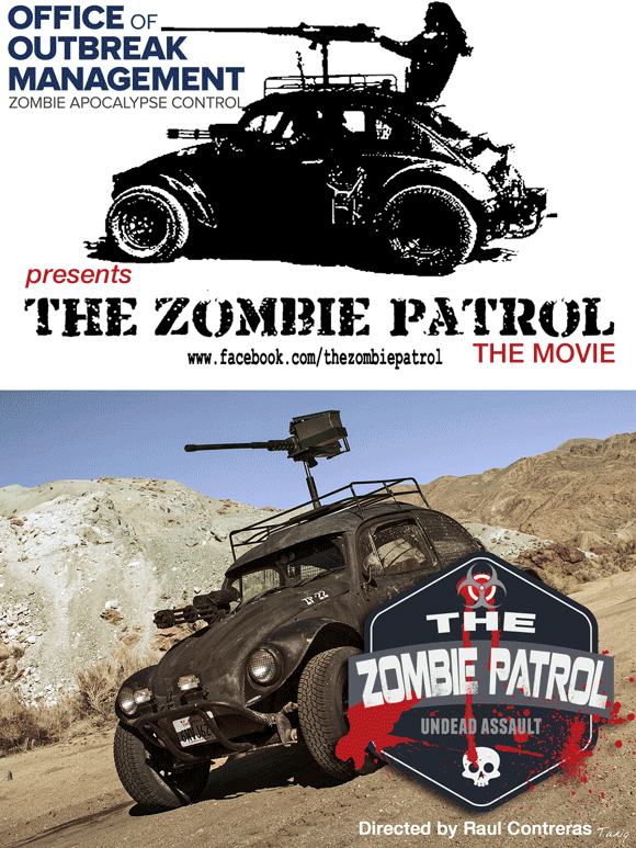 "The Zombie Patrol Movie - ZP-22 aka ""Roxanne"""