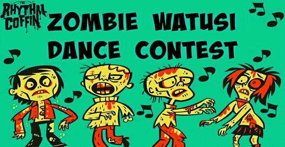 Rhythm Coffin Zombie Watusi Dance Contest Workshop